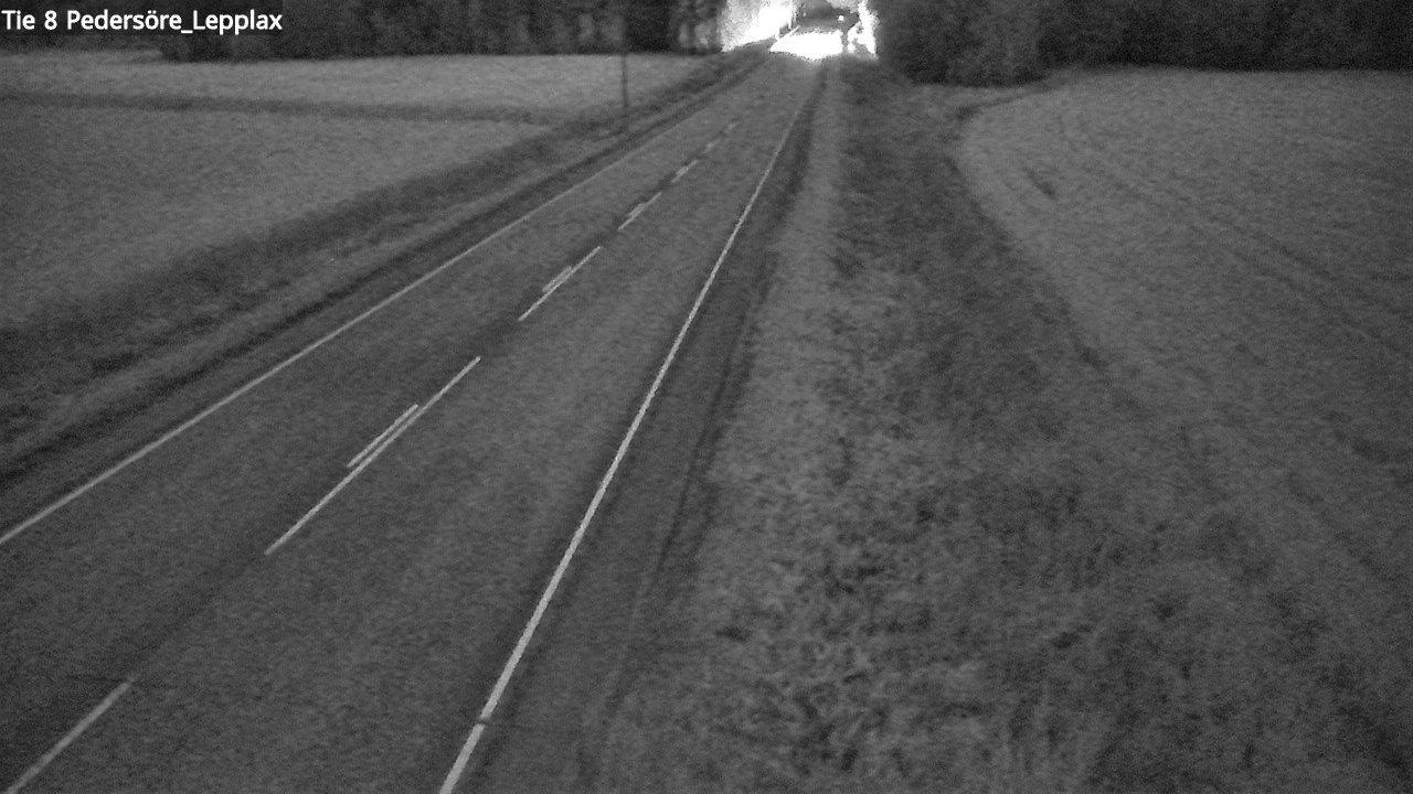 Webcam Pedersören kunta: Tie 8 Kruunupyy. Leppax − Ouluun