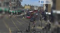 London: Upper Richmond Rd/Putney Hill - El día