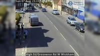 Croydon: High St/Grosvenor Rd W Wickham - Overdag