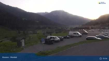Klosters Dorf: Klosters - Monbiel Parkplatz