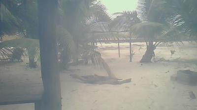 Vista de cámara web de luz diurna desde Mahahual › East: Maya Chan Beach