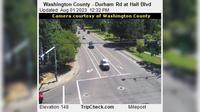 Durham: Washington County - Rd at Hall Blvd - Overdag