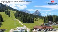 Garmisch-Partenkirchen: Hausberg - Garmisch-Classic - Blick nach S�dwesten - Day time