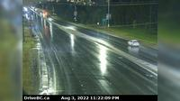 Prince George > West: , Hwy  at Hwy  in - looking northbound on Hwy - Actual