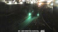 Oakville: QEW near Winston Churchill Boulevard - Current