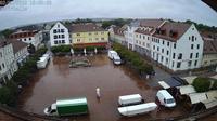 Neuburg an der Donau: Schrannenplatz - Schrannenplatz - Dia