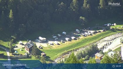 Wiler: Lauchernalp - Bergstation Luftseilbahn - Lauchernalp, Camping