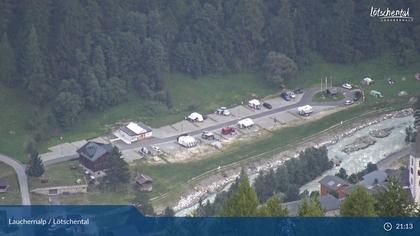 Wiler: Lauchernalp - Bergstation Luftseilbahn - Lauchernalp, Kippel