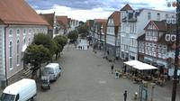 Gifhorn: Marktplatz - Gifhorn Steinweg - Dia