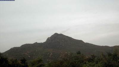 Vista actual o última desde Tiruvannamalai: Arunachala