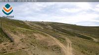 El Boalo: Valdesqu� (ski resort). La Bola piste - Overdag