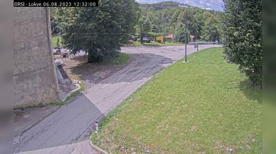 Vue webcam de jour à partir de Lokve: R3 608 − Čepovan