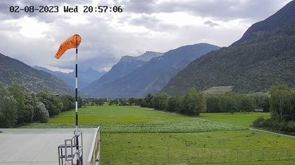 Sankt German: Helikopter Basis in Raron