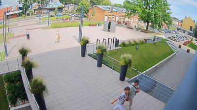 Tageslicht webcam ansicht von Molėtai: Savivaldybės aikštė