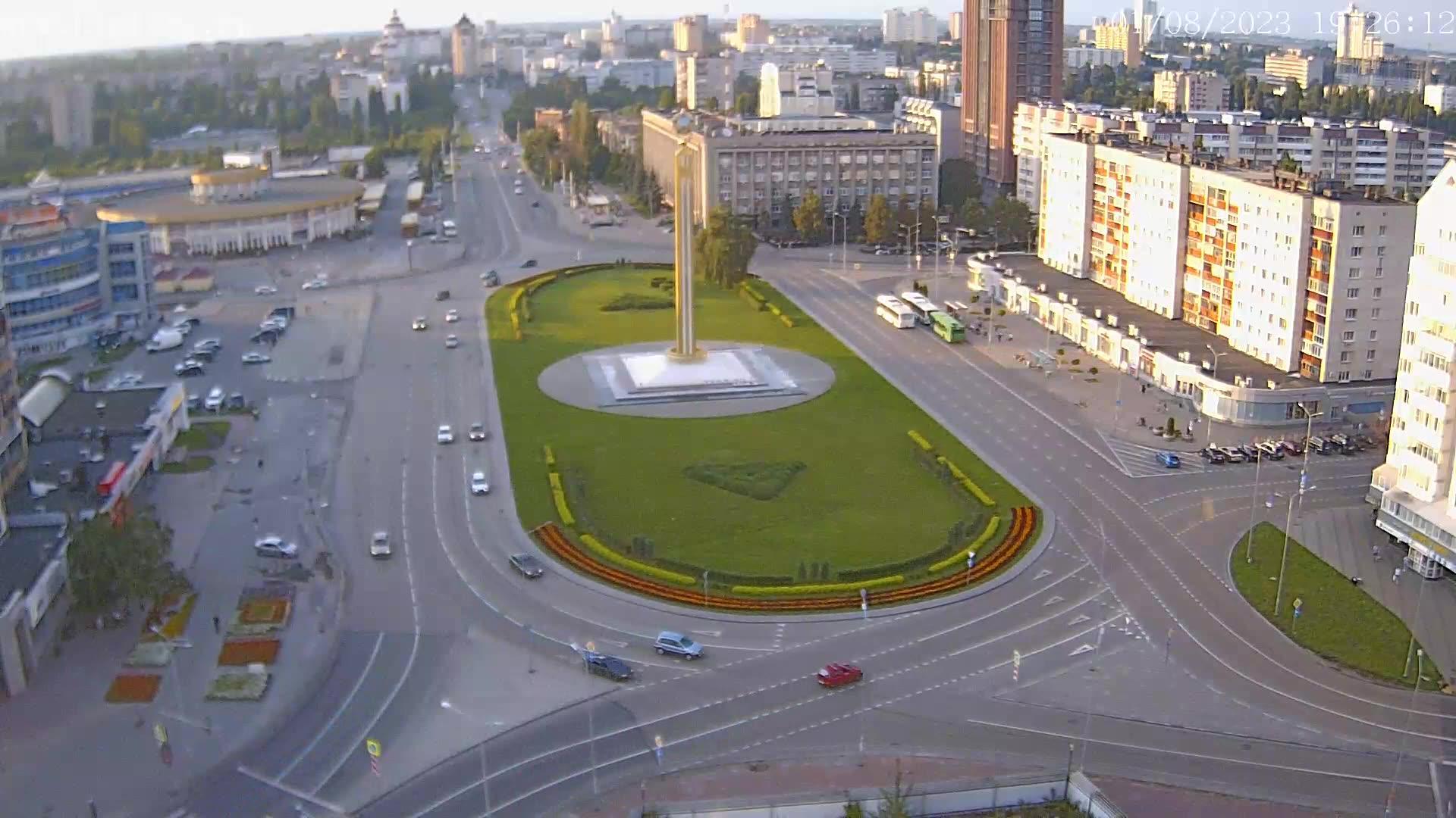 Webcam Lipetsk: площадь Победы