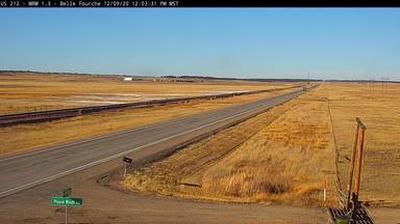 Webcam Colony: US-212 near Belle Fourche, SD (MM 1.3)