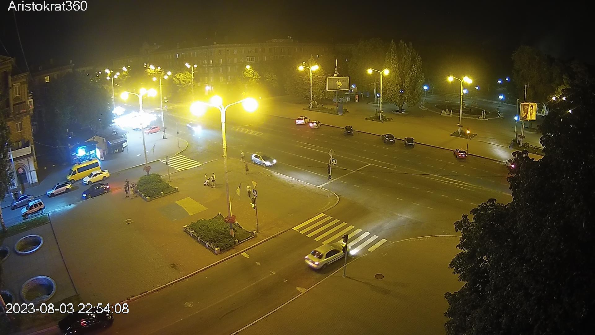 Webcam Voznesenka: площадь Маяковского