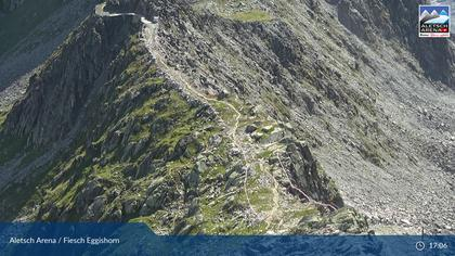 Fiesch: Aletsch Arena - Bergstation Eggishorn