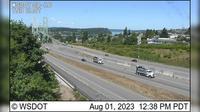 Tacoma: SR  at MP . - Narrows Bridge, Eastside - Overdag