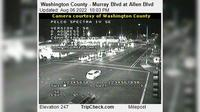 Beaverton: Washington County - Murray Blvd at Allen Blvd - Actuales