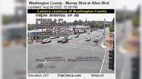 Beaverton: Washington County - Murray Blvd at Allen Blvd - El día