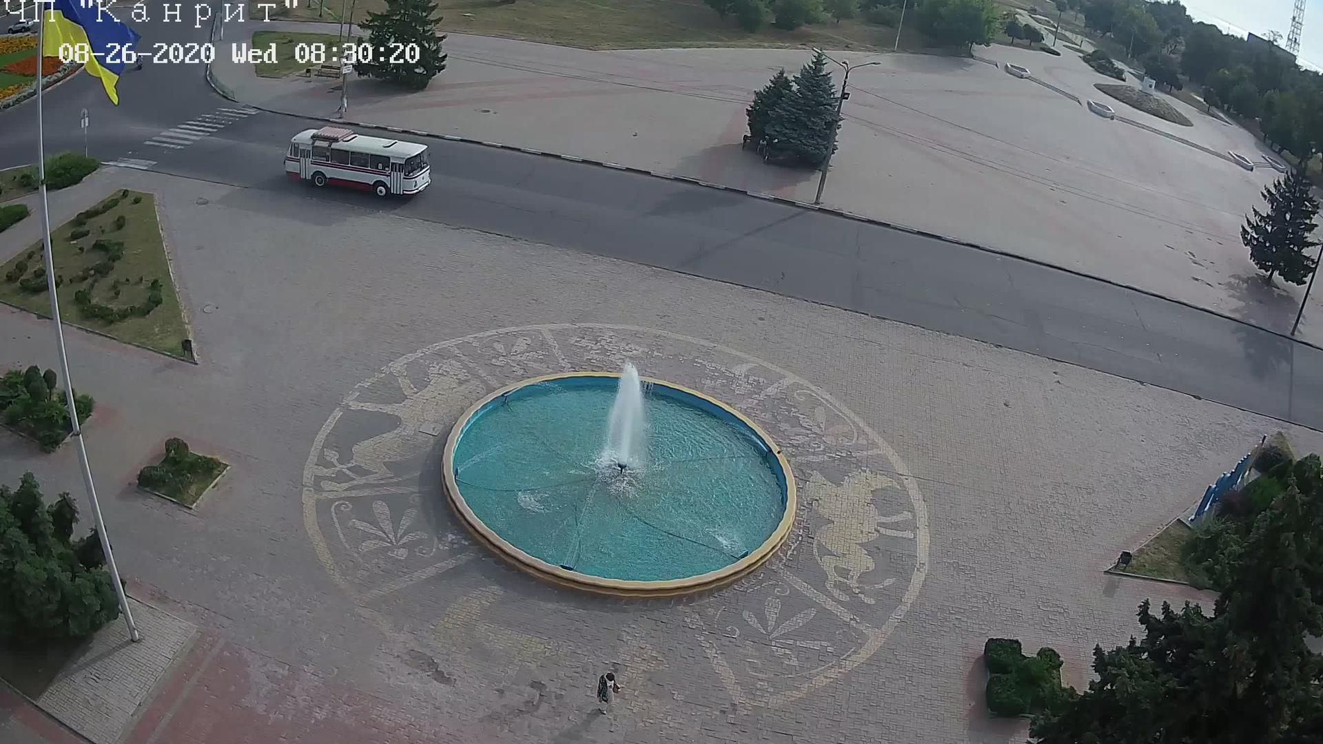 Webkamera Nikopol › North-East: Dnipropetrovsk − Европейская