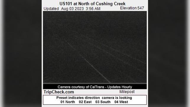 Webkamera Bertsch-Oceanview: US101 at North of Cushing Creek