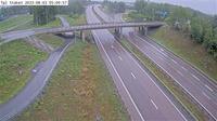 Staket: Tpl - Kameran är placerad på E Enköpingsvägen i höjd med trafikplats - och är riktad mot Stockholm - Actuales