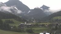 Ultima vista de la luz del día desde Unken: Unkenberg − Heutal Lift GmbH − Unken Ortsmitte