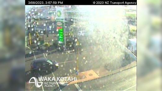 Webkamera Claudelands › East: SH1/SH23 Massey St Intersectio