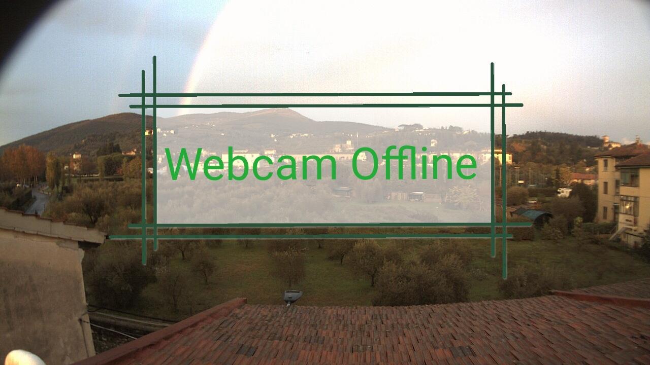 Webkamera Florence › North-East: Monte Morello