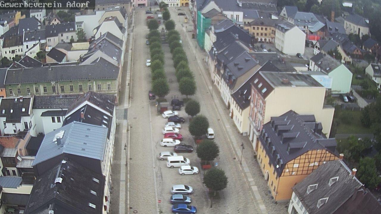 Webcam Adorf: Marktplatz