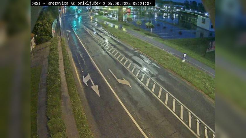 Webcam Podsmreka: R2-409, Ljubljana (Vič) − Brezovica, pr