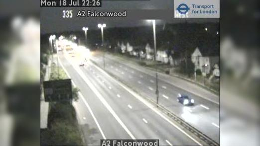 Webcam Bexley: A2 Falconwood