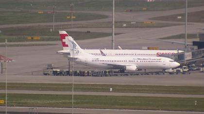 Kloten: Flughafen - Zuerich Flughafen Webcam Dock B