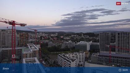 Zürich: Gebäude des SRF