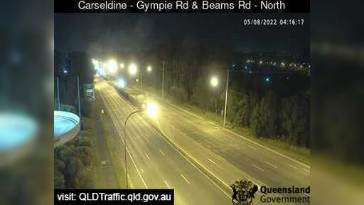 Webcam Carseldine: Aspley − Gympie Road and Beams Road (N