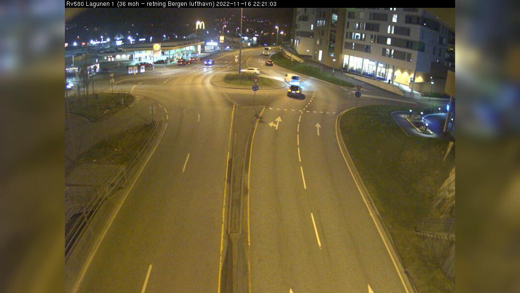 Webcam Lagunen Storsenter: R580 Lagunen (Retning mot sør)