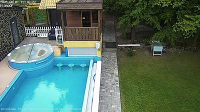 Daylight webcam view from Mátraszentimre: Darázshegyi Apartment Hotel & Cabins