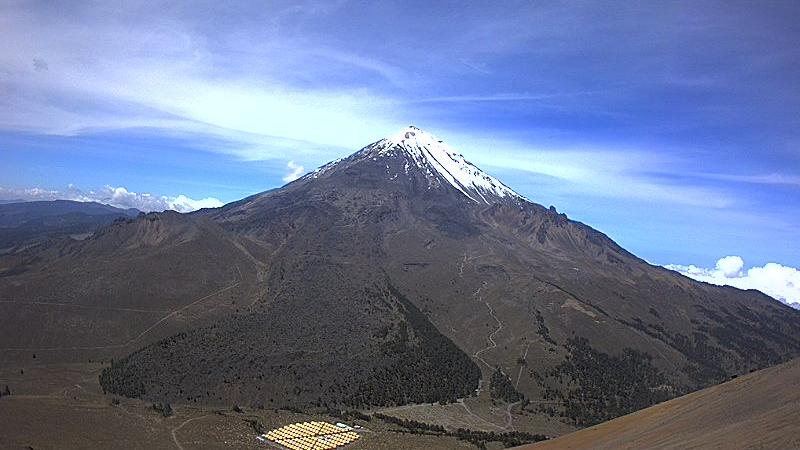 Webcam Xochiloma: Pico de Orizaba