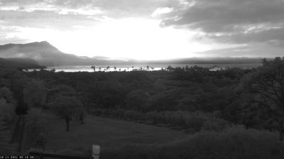 Current or last view from Baie de Gouaro › East: Gouaro Bay