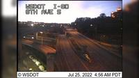 Seattle > North: I- at MP .: th Ave S, EB - Actuales