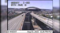 Seattle > North: I- at MP .: th Ave S, EB - El día