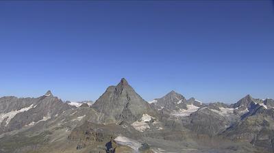 Webcam Fiery: Trockener Steg − Matterhorn Zermatt