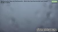 Bad Reichenhall: Reichenhaller Haus am Hochstaufen - Blick über - nach Süden - Actual