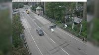 Enskede-Arsta-Vantors stadsdelsomrade: Skansbron (Kameran �r placerad vid betalstationen p� Skansbron och �r riktad mot Hammarby sj�stad) - Overdag