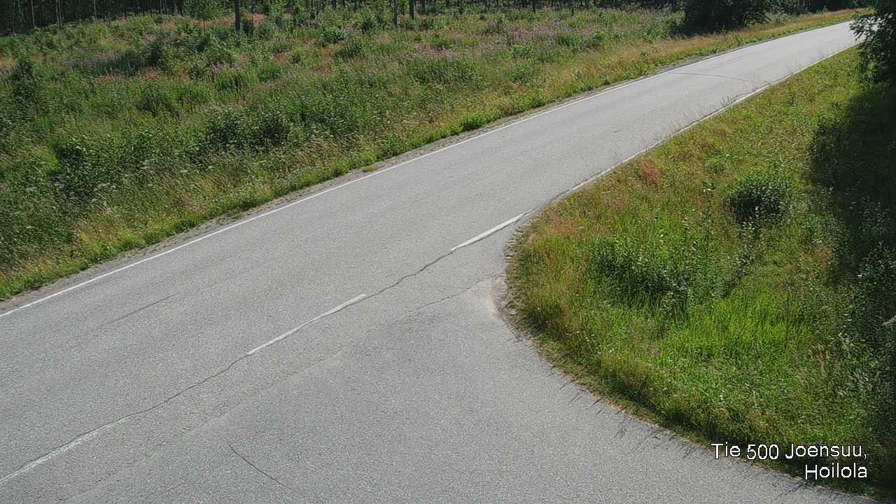 Webkamera Joensuu: Tie 500 − Hoilola