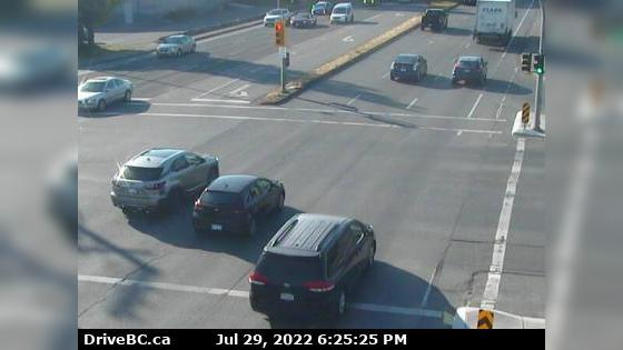 Webcam Lake Hill › North: Victoria, Hwy 17 at Cloverdale