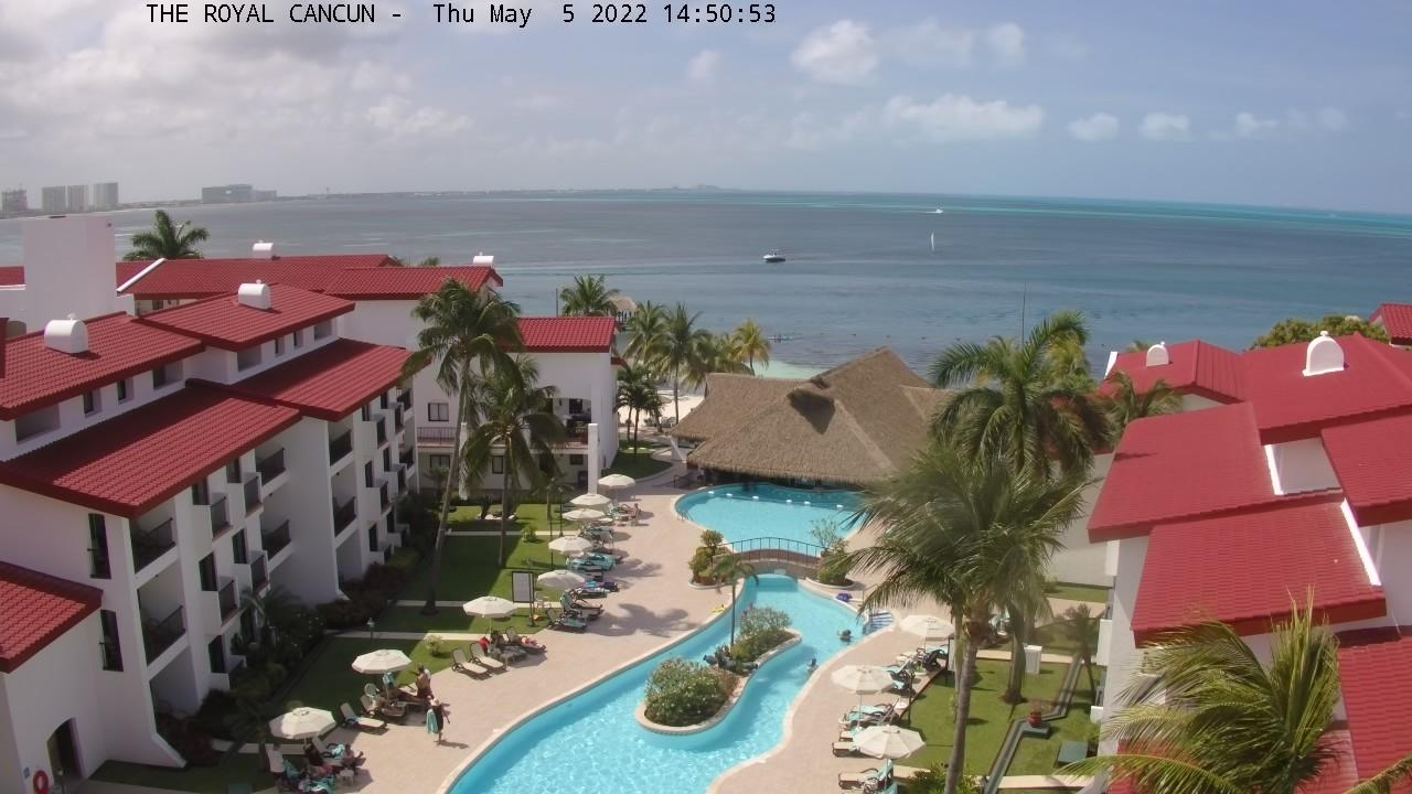 Webcam Club Mediterráneo: The Royal Cancun