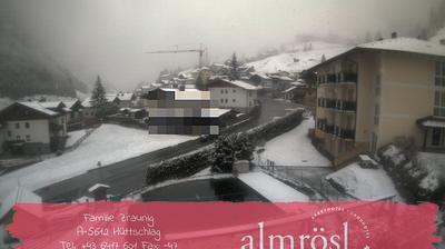 Tageslicht webcam ansicht von Hüttschlag: Vom Hotel Almrösl im Großarltal in